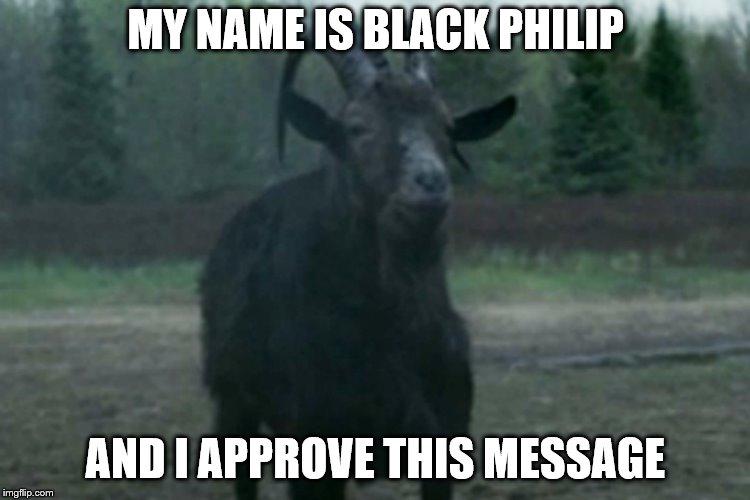 Black Philip Memes Gifs Imgflip