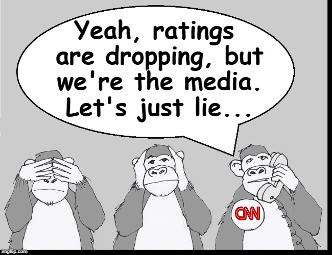Imagination is Better than Truth... well, unless you're a Reporter | Yeah, ratings are dropping, but we're the media. Let's just lie... | image tagged in vince vance,msnbc,fake news,washington post,new york times,cnn | made w/ Imgflip meme maker