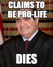 CLAIMS TO BE PRO-LIFE DIES | made w/ Imgflip meme maker