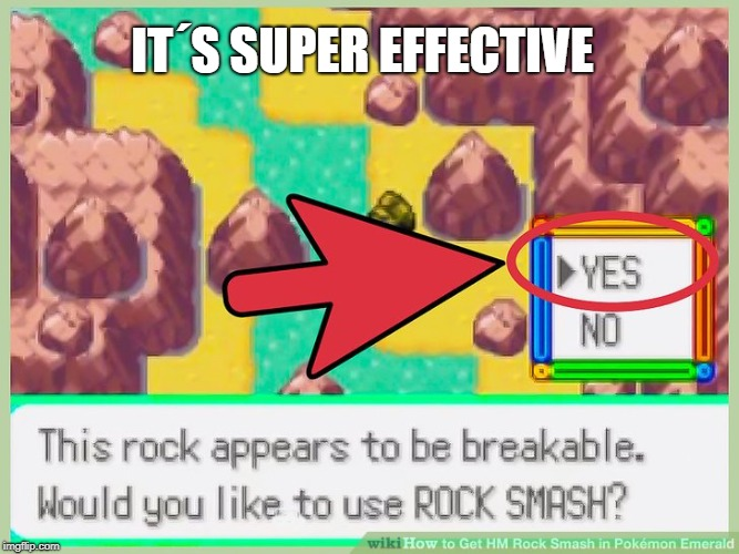 IT´S SUPER EFFECTIVE | made w/ Imgflip meme maker