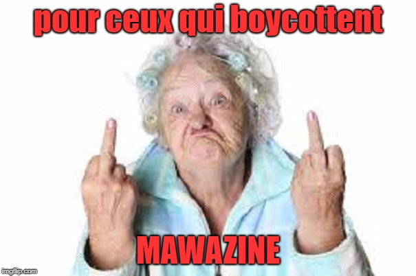 MAWAZINE | pour ceux qui boycottent MAWAZINE | image tagged in one does not simply | made w/ Imgflip meme maker
