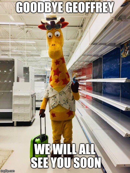 "R.I.P Toys""R""Us 1948-2018 