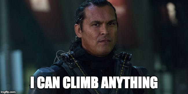 I CAN CLIMB ANYTHING | made w/ Imgflip meme maker