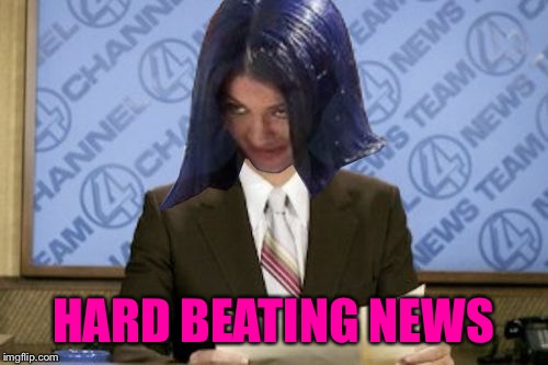 Ron Mimandy | HARD BEATING NEWS | image tagged in ron mimandy | made w/ Imgflip meme maker