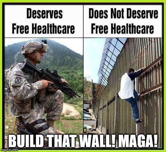 BUILD THAT WALL! MAGA! | image tagged in build that wall | made w/ Imgflip meme maker