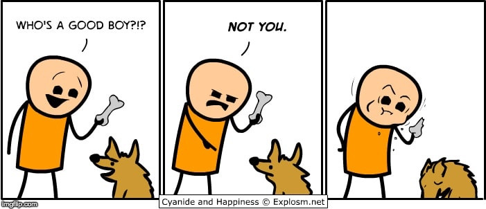This Is Not A Stolen Meme (awkward silence) |  . | image tagged in cyanide and happiness | made w/ Imgflip meme maker