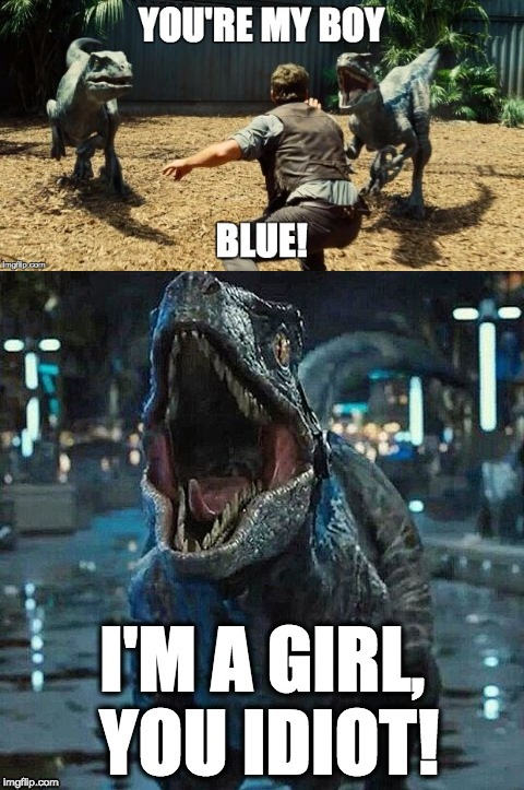 image tagged in jurassic world | made w/ Imgflip meme maker
