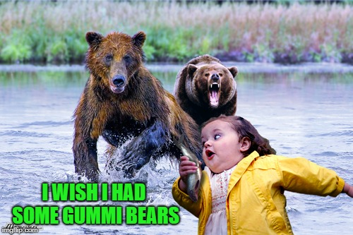 I WISH I HAD SOME GUMMI BEARS | made w/ Imgflip meme maker