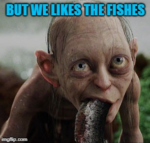 BUT WE LIKES THE FISHES | made w/ Imgflip meme maker