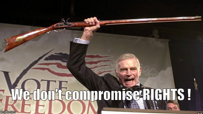 We don't compromise RIGHTS ! | made w/ Imgflip meme maker
