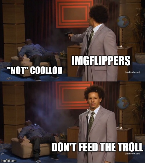 "Talk about ""The pot calling the kettle black"" 