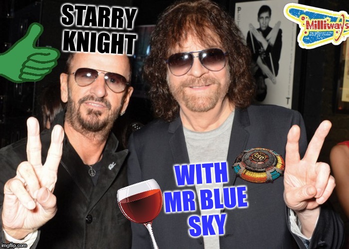 STARRY KNIGHT WITH MR BLUE SKY | made w/ Imgflip meme maker