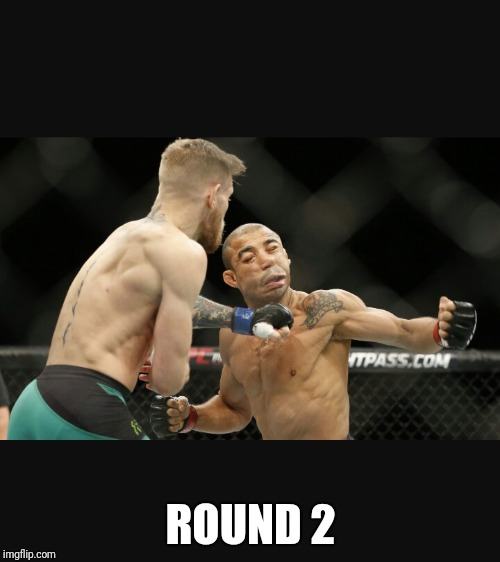 MMA UFC BJJ BOXING | ROUND 2 | image tagged in mma ufc bjj boxing | made w/ Imgflip meme maker