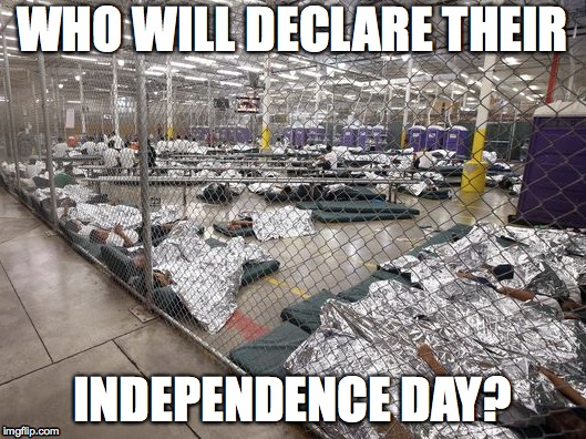 independent? | WHO WILL DECLARE THEIR INDEPENDENCE DAY? | image tagged in children in prison,independence | made w/ Imgflip meme maker