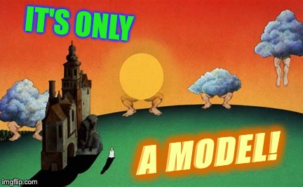 IT'S ONLY A MODEL! | made w/ Imgflip meme maker