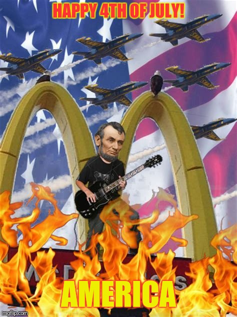 Keep on rockin in the free world | HAPPY 4TH OF JULY! AMERICA | image tagged in memes,america | made w/ Imgflip meme maker