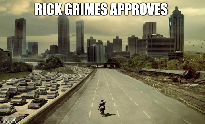 RICK GRIMES APPROVES | made w/ Imgflip meme maker