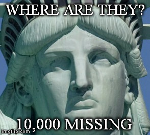WHERE ARE THEY? 10,000 MISSING | made w/ Imgflip meme maker