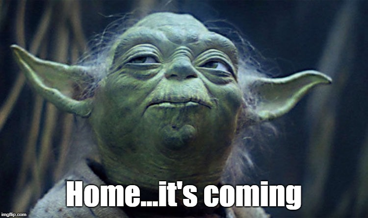 Home...it's coming | image tagged in yoda,england,world cup,it's coming home | made w/ Imgflip meme maker