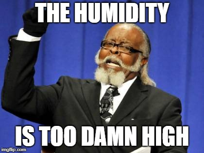 Too Damn High Meme | THE HUMIDITY IS TOO DAMN HIGH | image tagged in memes,too damn high,AdviceAnimals | made w/ Imgflip meme maker