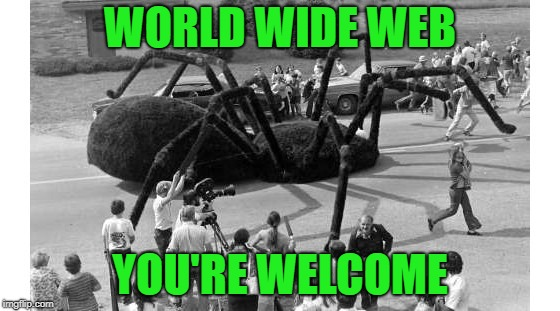WORLD WIDE WEB YOU'RE WELCOME | made w/ Imgflip meme maker