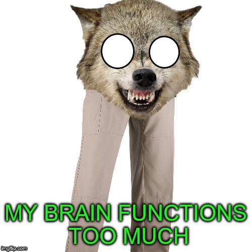 MY BRAIN FUNCTIONS TOO MUCH | made w/ Imgflip meme maker