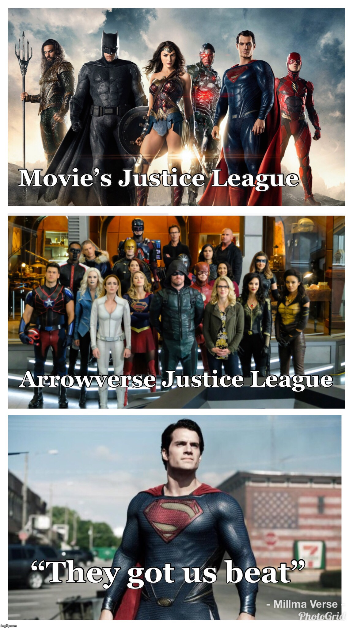Justice League  | image tagged in arrowverse,justice league,crisis on earth x,superman | made w/ Imgflip meme maker