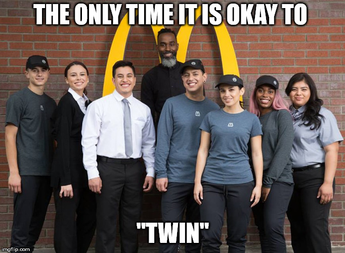 "Uniforms | THE ONLY TIME IT IS OKAY TO ""TWIN"" 