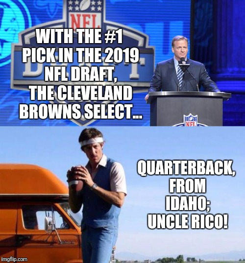 1 Pick Of The 2019 Draft Imgflip
