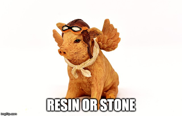 RESIN OR STONE | made w/ Imgflip meme maker