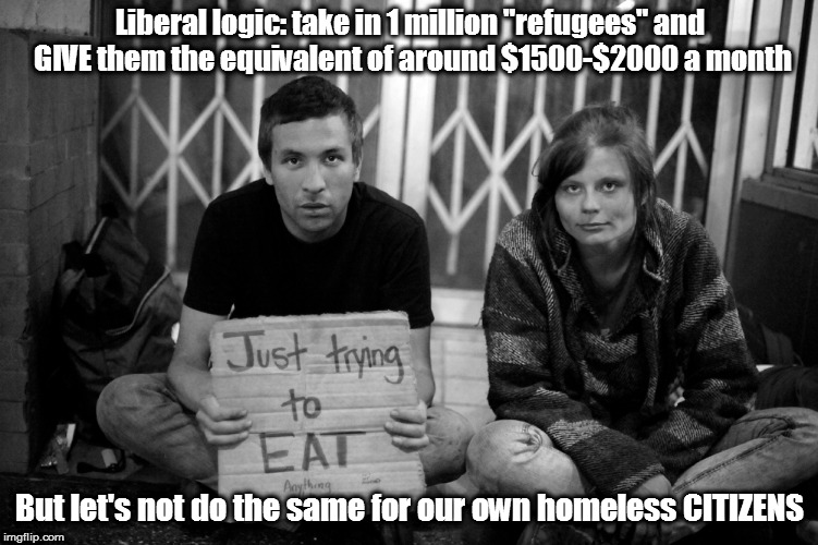 "Libs want a ""homeless problem"" they can point at to beg for federal funding. 