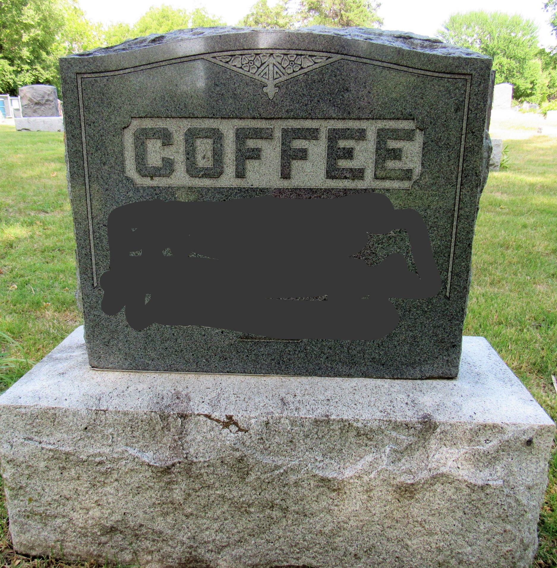 deathofcoffee blank template imgflip