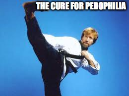 THE CURE FOR PEDOPHILIA | made w/ Imgflip meme maker