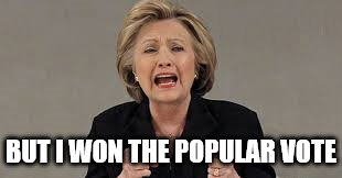 BUT I WON THE POPULAR VOTE | made w/ Imgflip meme maker