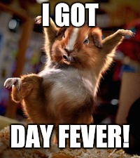 I GOT DAY FEVER! | made w/ Imgflip meme maker