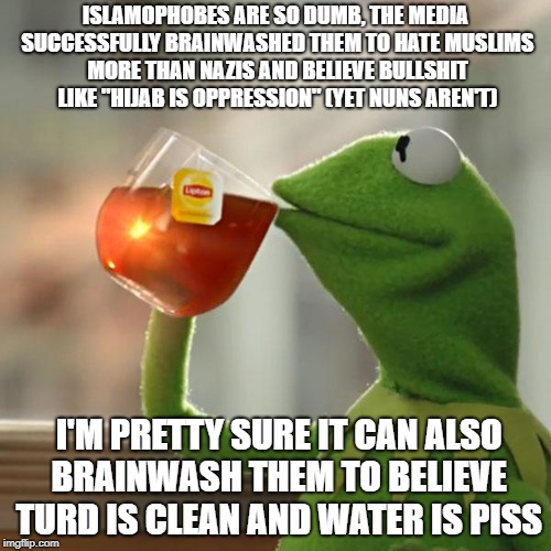 "Islamophobes Are SO Dumb | ISLAMOPHOBES ARE SO DUMB, THE MEDIA SUCCESSFULLY BRAINWASHED THEM TO HATE MUSLIMS MORE THAN NAZIS AND BELIEVE BULLSHIT LIKE ""HIJAB IS OPPRES 