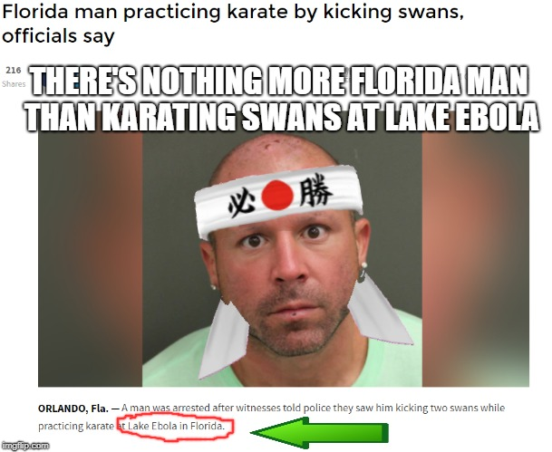 """Hey y'all, I got an awesome idea..."" 