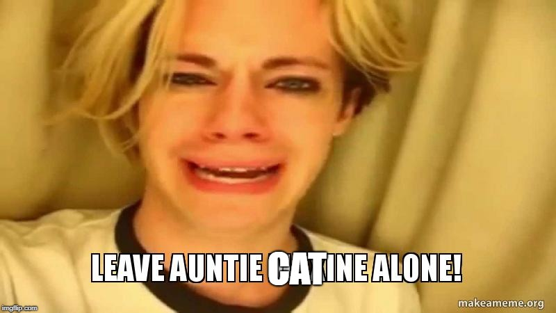 Auntie Max | CAT | image tagged in auntie max | made w/ Imgflip meme maker
