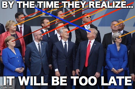 Prometheus | BY THE TIME THEY REALIZE... IT WILL BE TOO LATE | image tagged in election 2020,aliens,lasers | made w/ Imgflip meme maker