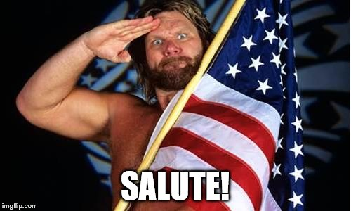 SALUTE! | made w/ Imgflip meme maker