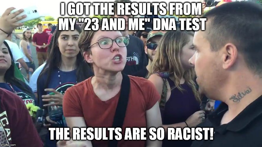 "I GOT THE RESULTS FROM MY ""23 AND ME"" DNA TEST THE RESULTS ARE SO RACIST! 