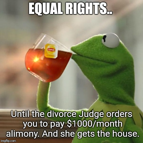 """equal rights"" 