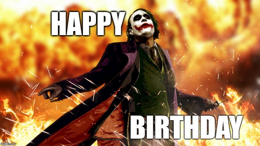 Картинки по запросу happy birthday joker