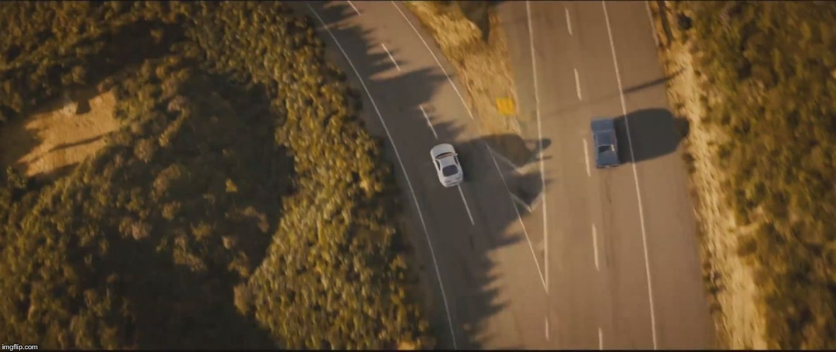 image tagged in fast and furious 7 final scene | made w/ Imgflip meme maker