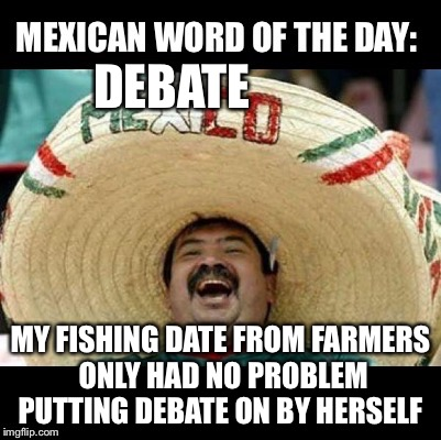 Image result for mexican word of the day fishing