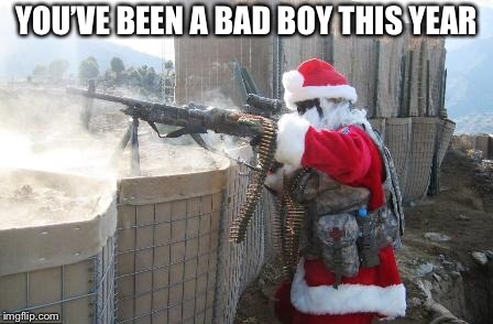 Hohoho Meme | YOU'VE BEEN A BAD BOY THIS YEAR | image tagged in memes,hohoho | made w/ Imgflip meme maker
