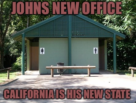 Papa John Gets Building Named In His Honor  | JOHNS NEW OFFICE CALIFORNIA IS HIS NEW STATE | image tagged in papajohn,pizza,racist,racism,stupid people,california | made w/ Imgflip meme maker