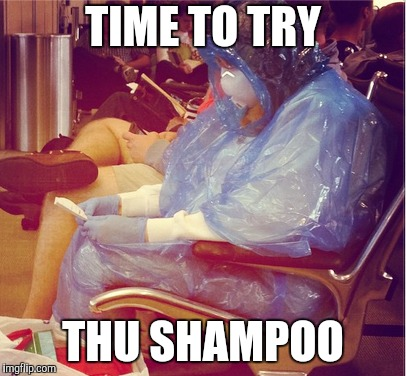 TIME TO TRY THU SHAMPOO | made w/ Imgflip meme maker