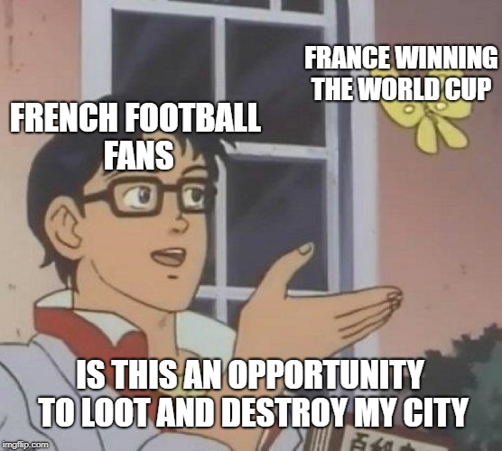 Would have happened in french