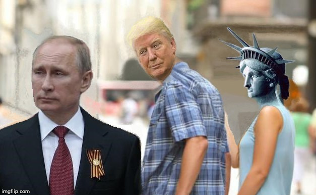 allegiances | image tagged in politics,trump,news,memes,putin | made w/ Imgflip meme maker